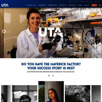 Uta.edu thumbnail