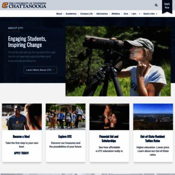 Utc.edu thumbnail