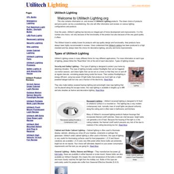 Org At Wi Utilitech Lighting