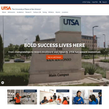 Utsa.edu thumbnail
