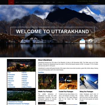 Uttarakhandtourism.ind.in thumbnail