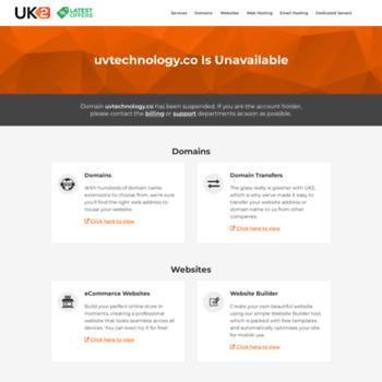Uvtechnology.co thumbnail