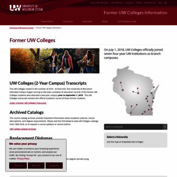 Uwc.edu thumbnail