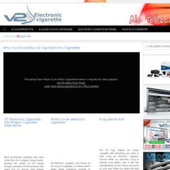 V2cigar.net thumbnail