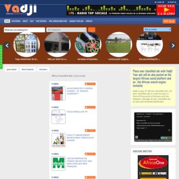 vadji com at WI  #1 Free Classifieds Website in Africa   Africa Top