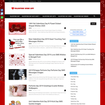 Valentinesdatesheet.com thumbnail