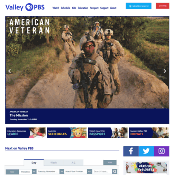 Valleypbs.org thumbnail