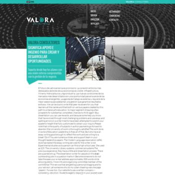 Valora-consultores.com thumbnail