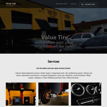valuetirefl com at WI  Tires Hollywood Fl Discount Tire Plus