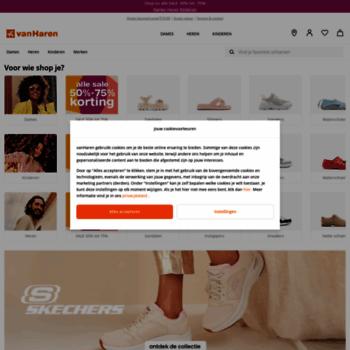 vanharen.nl at WI. vanHaren Omdat we van schoenen houden.