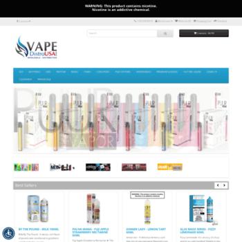 vapedistrousa com at WI  #1 Vape Supplier - Retail/Wholesale