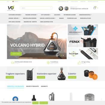 Vaporizer-online.de thumbnail