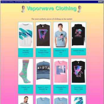 Vaporwaveclothing.net thumbnail