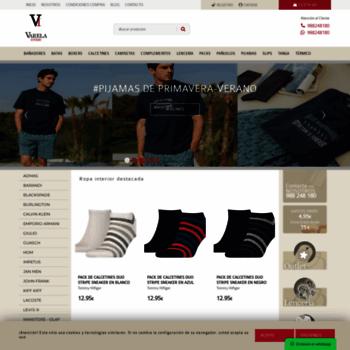 varelaintimo.com at WI. Ropa Interior Masculina Online - Tienda ... b7c003b00f7