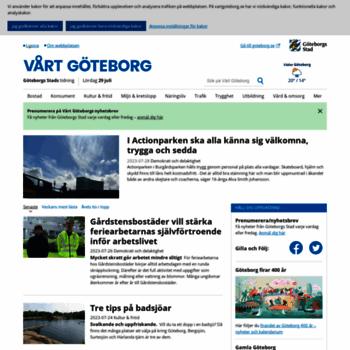 Vartgoteborg.se thumbnail