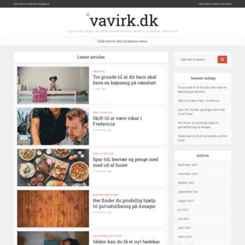 Vavirk.dk thumbnail