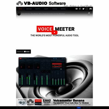 vb-audio com at WI  VB-Audio home page