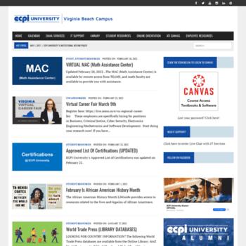 vb.ecpi.net moodle