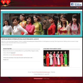matchmaking vietnamita siti di incontri benefici
