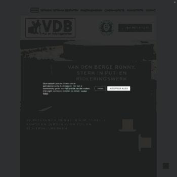 Vdb-rioleringen.be thumbnail