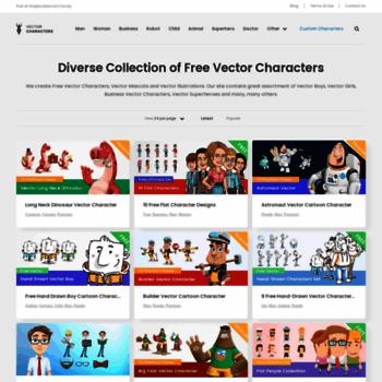 Vectorcharacters.net thumbnail