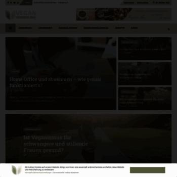 Vegan-wonderland.de thumbnail