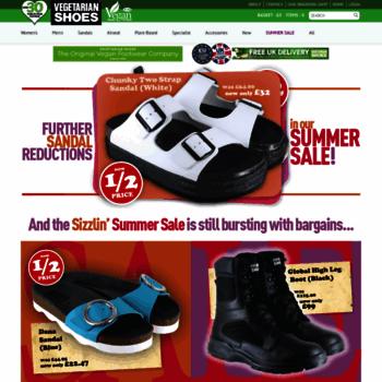Vegetarian-shoes.co.uk thumbnail