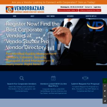 Vendorbazaar.net thumbnail