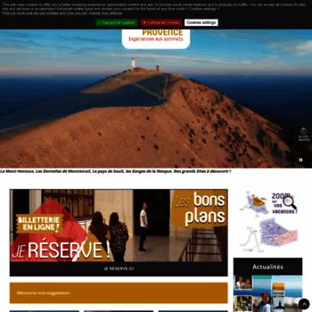 Ventouxprovence.fr thumbnail