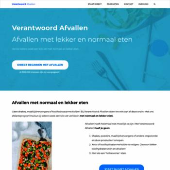 Verantwoord-afvallen.nl thumbnail