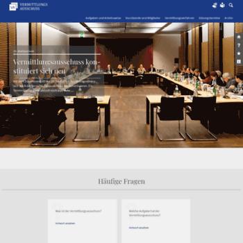 Vermittlungsausschuss.de thumbnail