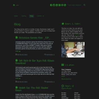 Веб сайт veronicalewis.doodlekit.com