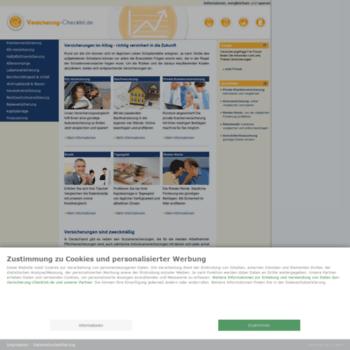 Versicherung-checklist.de thumbnail
