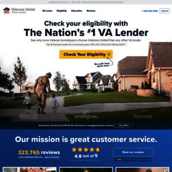 Veteransunited Com At Wi Va Home Loans From The Specialists