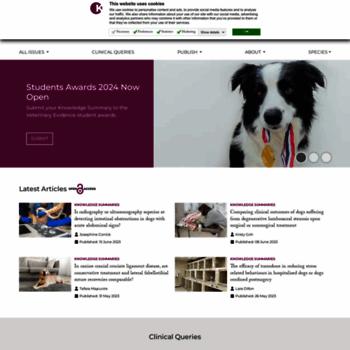 Veterinaryevidence.org thumbnail