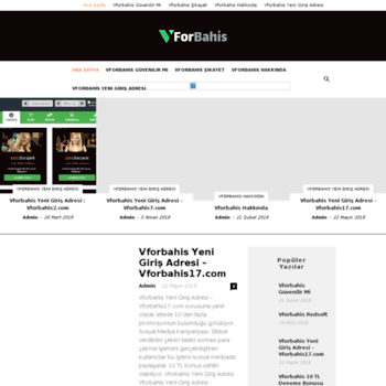 Vforbahis.net thumbnail