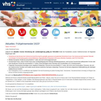 Vhs-bruchsal.de thumbnail