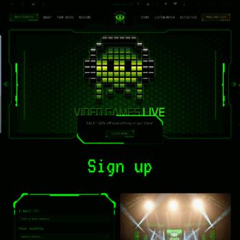 Videogameslive.com thumbnail