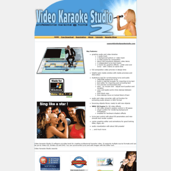 Videokaraokestudio.com thumbnail