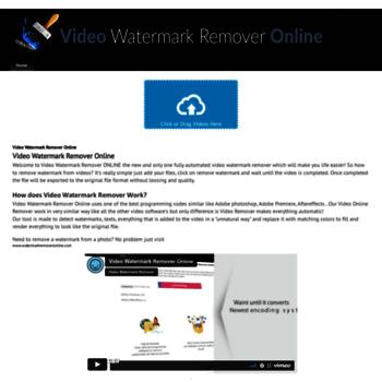 videowatermarkremoveronline com at WI  Video Watermark