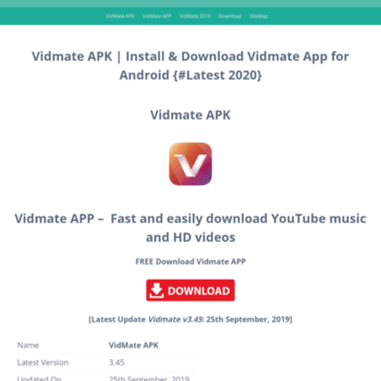 vidmate-apk in at WI  VidMate APK - Download Install Free