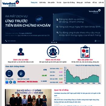 Vietinbanksc.com.vn thumbnail