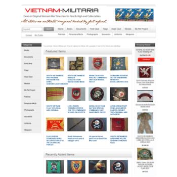 vietnam-militaria com at WI  Vietnam-Militaria com: Shop for