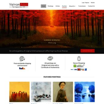 vietnamartist com at WI  Asian Art Gallery - Buy Paintings
