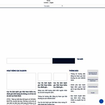 Vietnamtourism.gov.vn thumbnail