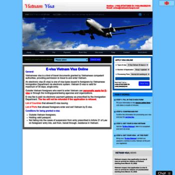 Vietnamvisapro.net thumbnail