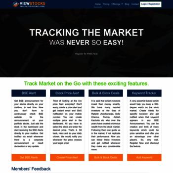 Viewstocks.in thumbnail