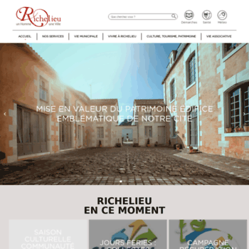 Ville-richelieu.fr thumbnail