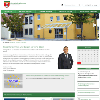 Vilsheim.de thumbnail