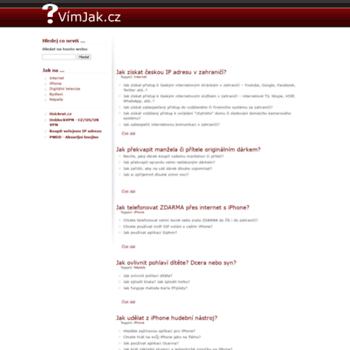 Vimjak.cz thumbnail